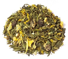 DiNature-thé vert Bio pamplemousse Mandarine