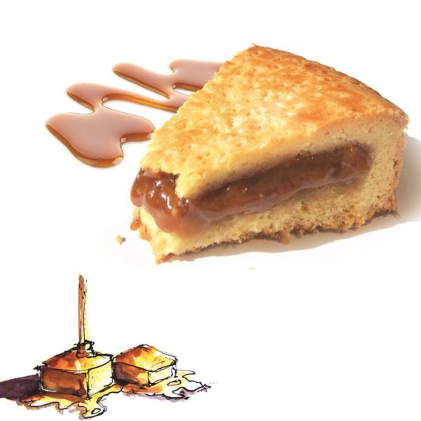 DiNature sablé caramel beurre salé de Guerande